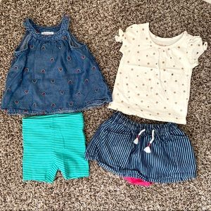 Like New Cat & Jack 12 month outfits